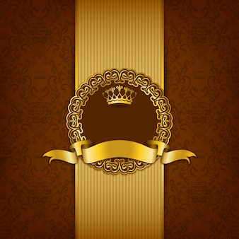 Luxury background with ornament