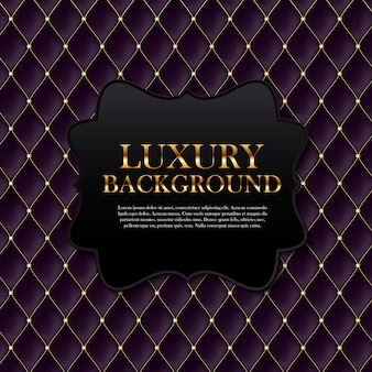 Luxury background with text template