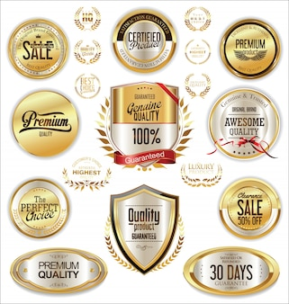 Luxury badges