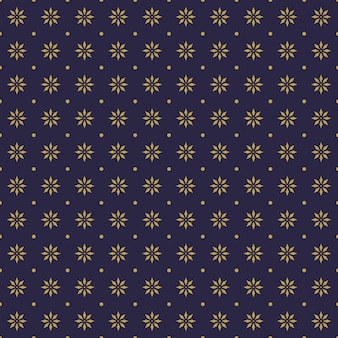 Luxury batik seamless pattern background wallpaper in geometric mandala shape style