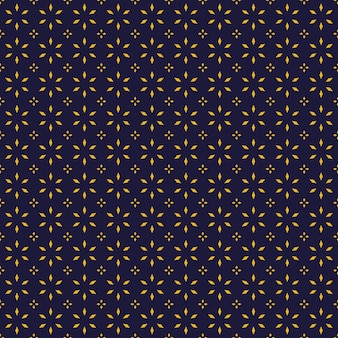 Luxury batik seamless pattern background wallpaper in geometric shape style