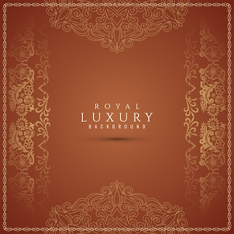Luxury beautiful decorative brown background