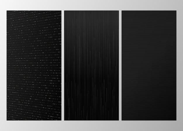 Роскошная коллекция черного фона
