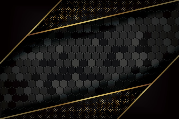 Luxury black background with 3d style.