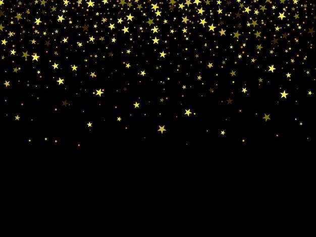Роскошный черный фон с золотыми бенгальскими огнями