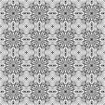 Luxury black and white pattern