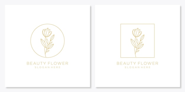 豪華な植物の花コレクション