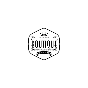 Luxury boutique logo templates