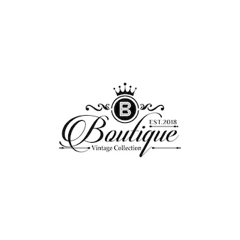 Шаблоны логотипов luxury boutique