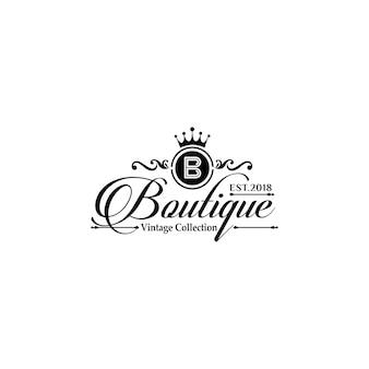 Шаблоны логотипов luxury boutique