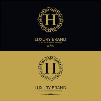 Логотип фирменного бренда h