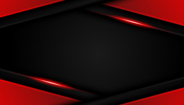 Luxury bright red lines modern sport background
