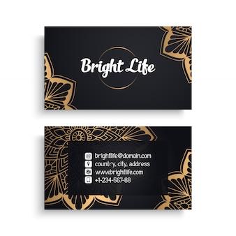 Luxury business card  design