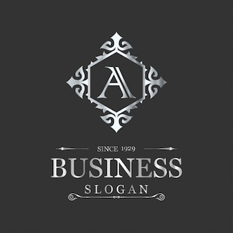 Luxury business logo template