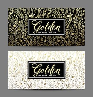 ゴールドフレームの高級カード