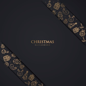 Luxury christmas backgorund