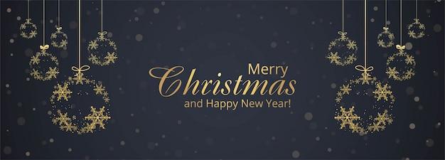 Роскошное новогоднее украшение со снежинками и шарами