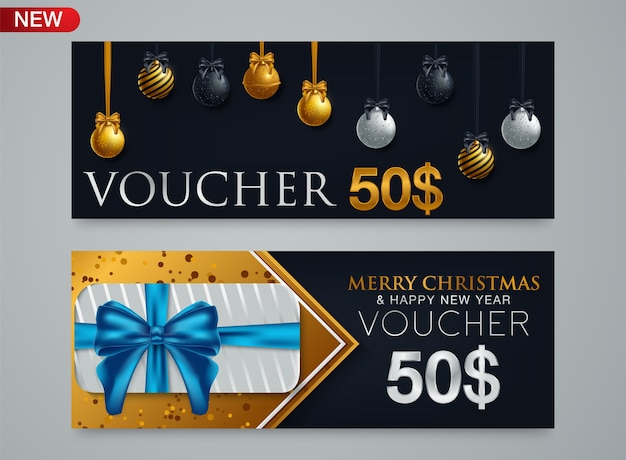 Luxury christmas voucher