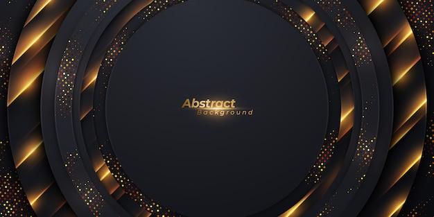 Luxury circle background