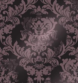 Luxury classic ornament on grunge background