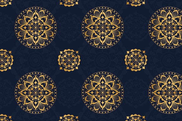 Luxury colorful mandala background