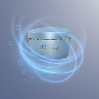 Luxury cosmetic template