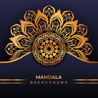 Luxury creative islamic mandala background