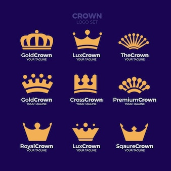 Luxury Crown Logo Collection