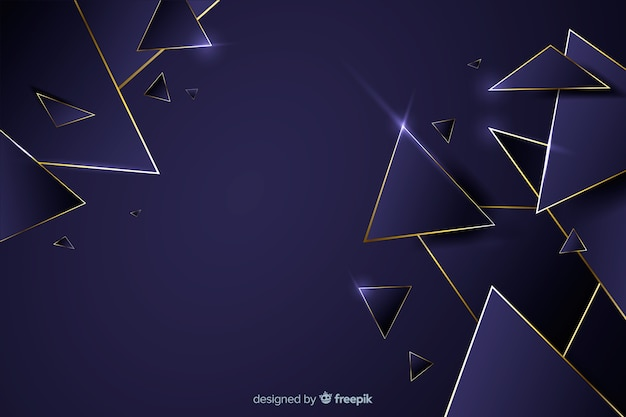 Luxury dark geometrical background