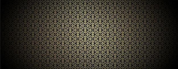 Роскошный темный узор орнамента