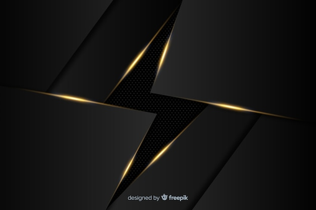 Luxury dark polygonal background