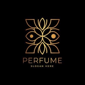 Luxury design for perfume logo