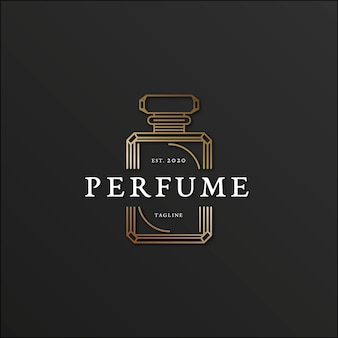 Luxury design for perfume logo