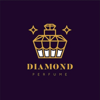 Luxury design perfume logo