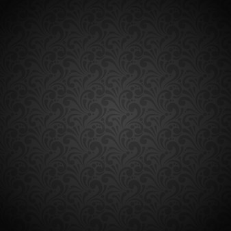 Luxury and elegant black seamless pattern