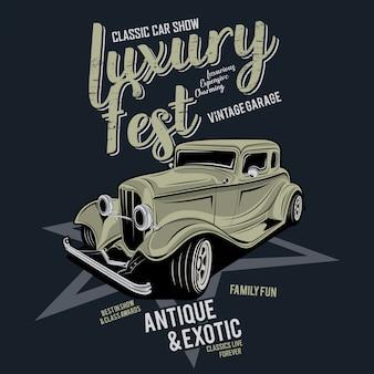 Luxury festival classic