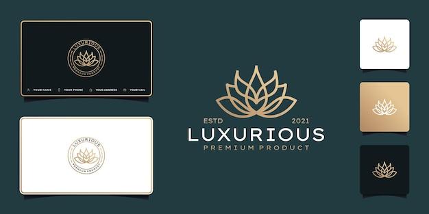 Luxury flower beauty logo design inspiration
