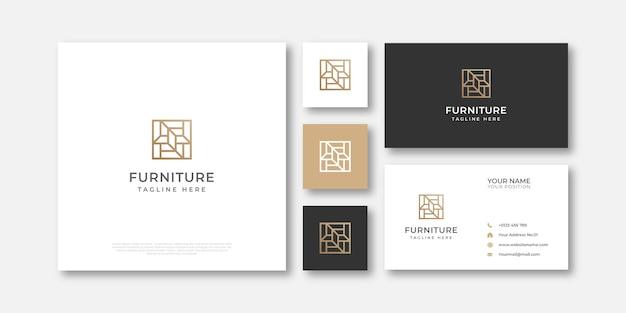 Luxury furniture logo design
