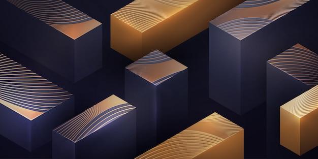 Luxury geometric background.