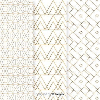 Коллекция роскошных геометрических узоров