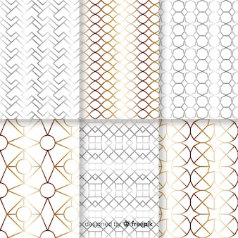 Luxury geometric pattern collection