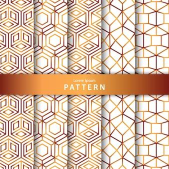 Luxury geometric pattern collection