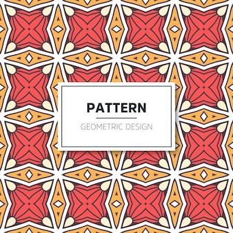 럭셔리 기하학적 패턴 디자인