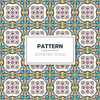 Luxury geometric pattern design