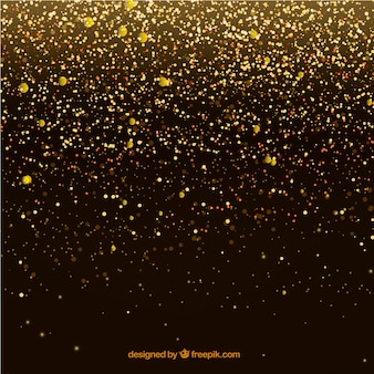 Luxury glitter particles background