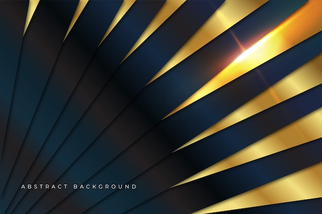 Luxury gold abstract background