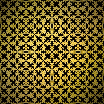 Luxury golden background seamless pattern with ornament