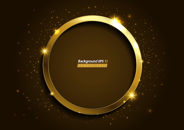 Luxury golden brown color background