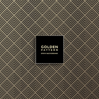 Luxury golden geometric pattern, abstract pattern background