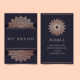 Luxurygolden gradientbusiness cards